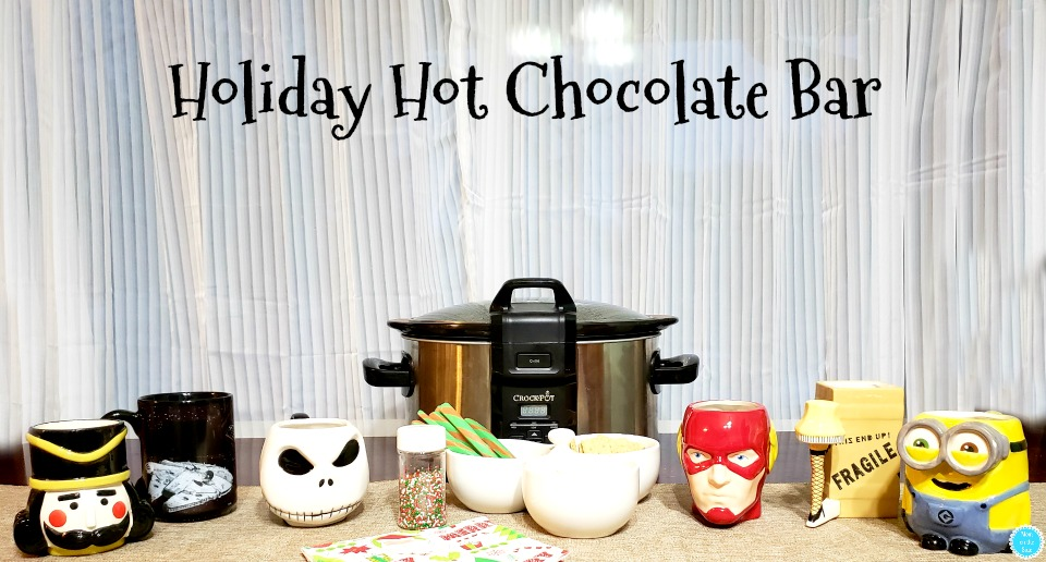 Easy Holiday Hot Chocolate Bar