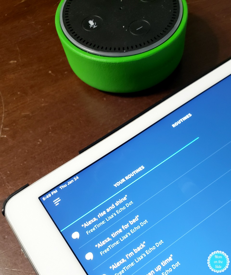 Echo Dot Kids Edition Alexa Routines