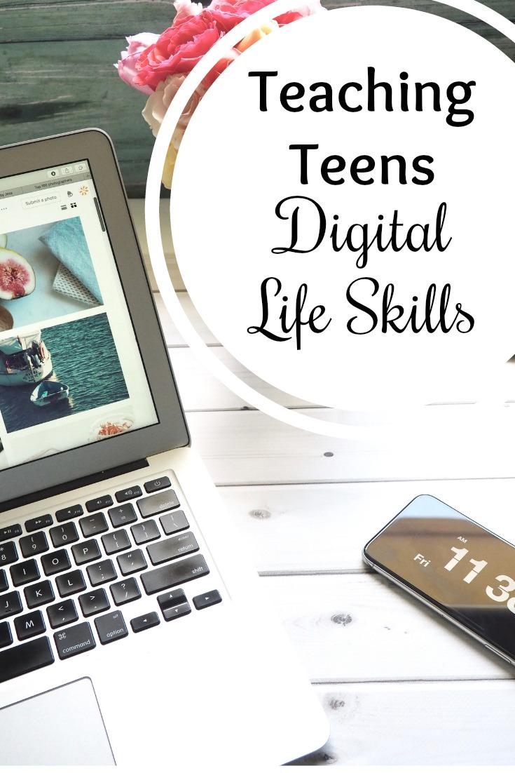 Tips for Teaching Teens Digital Life Skills