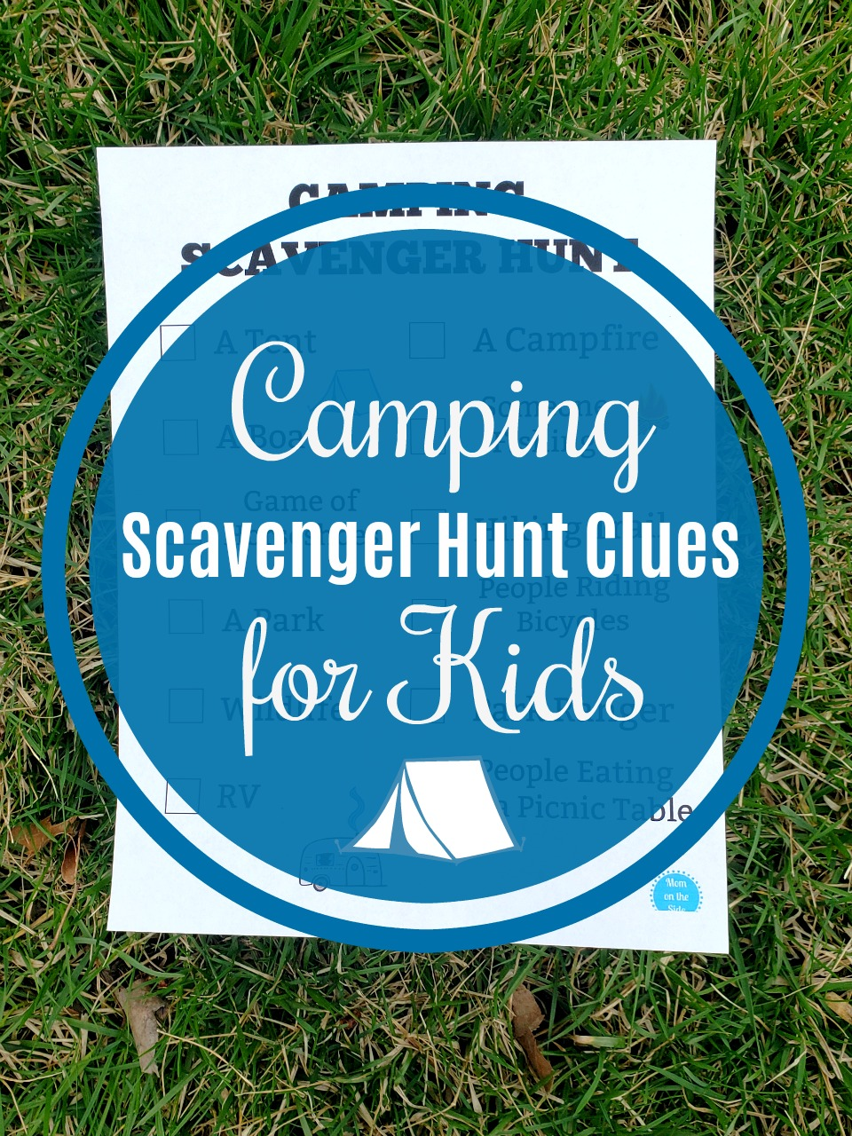 picture regarding Camping Scavenger Hunt Printable titled Printable Tenting Scavenger Hunt for Youngsters in the direction of Persuade Studying