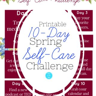 Printable Self-Care Challenge for Women