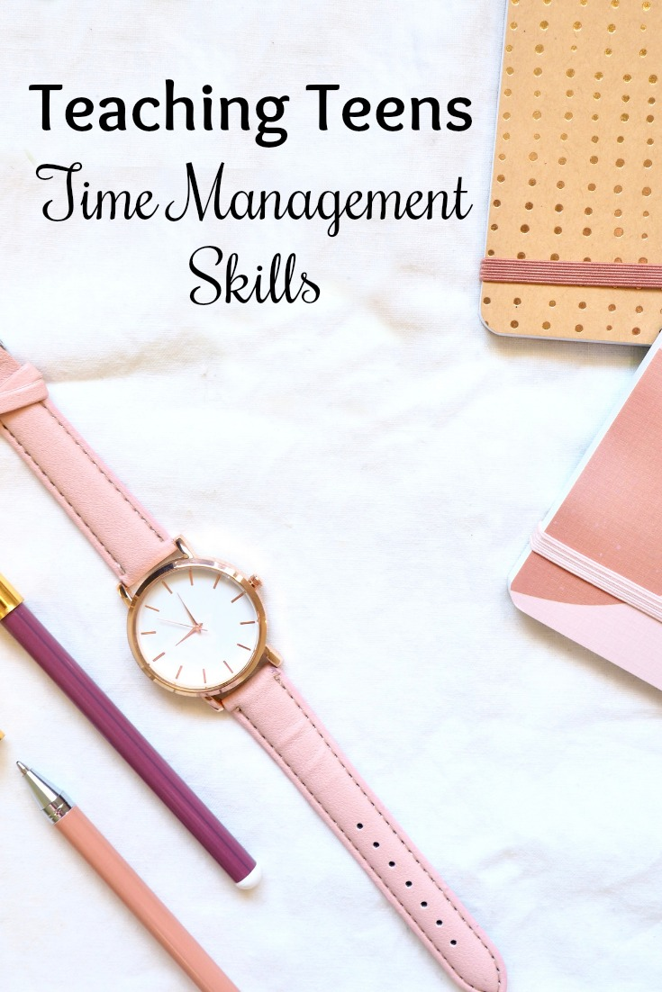 Tips for Teaching Teens Time Management Skills