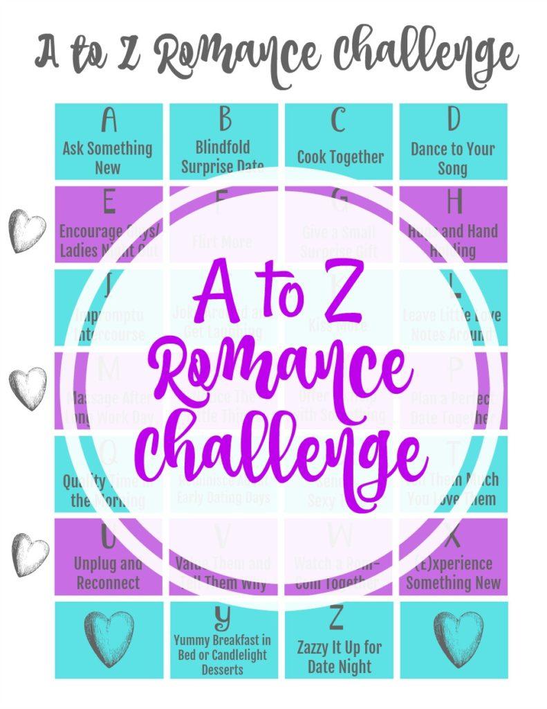 Free Printable Romance Challenge