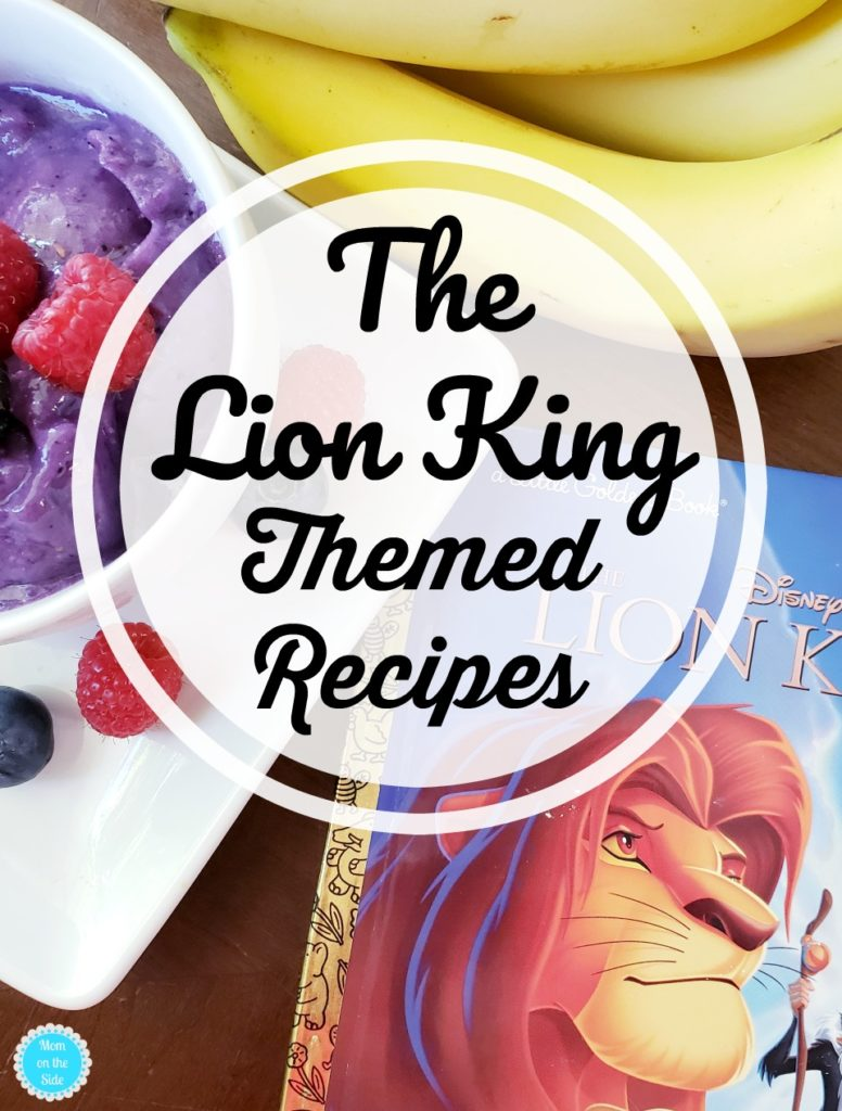 Easy Lion King Themed Recipes