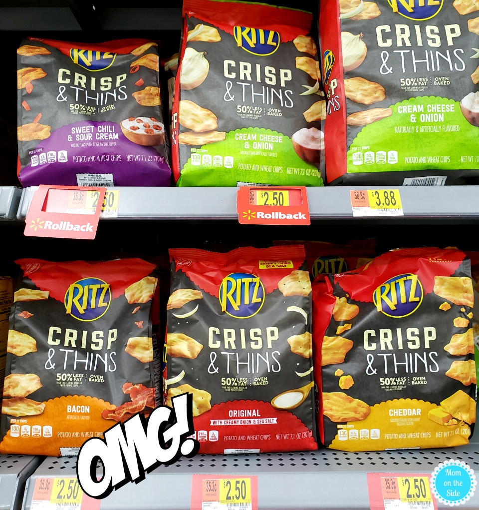 Ritz Crisp & Thins at Walmart