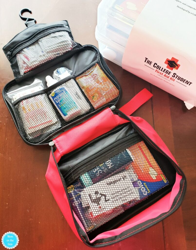 travel first aid kit for college