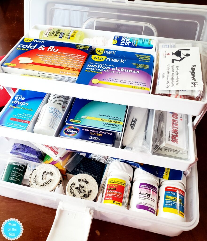 college student first aid kit products