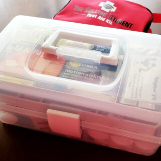 student first aid kit graduation gift