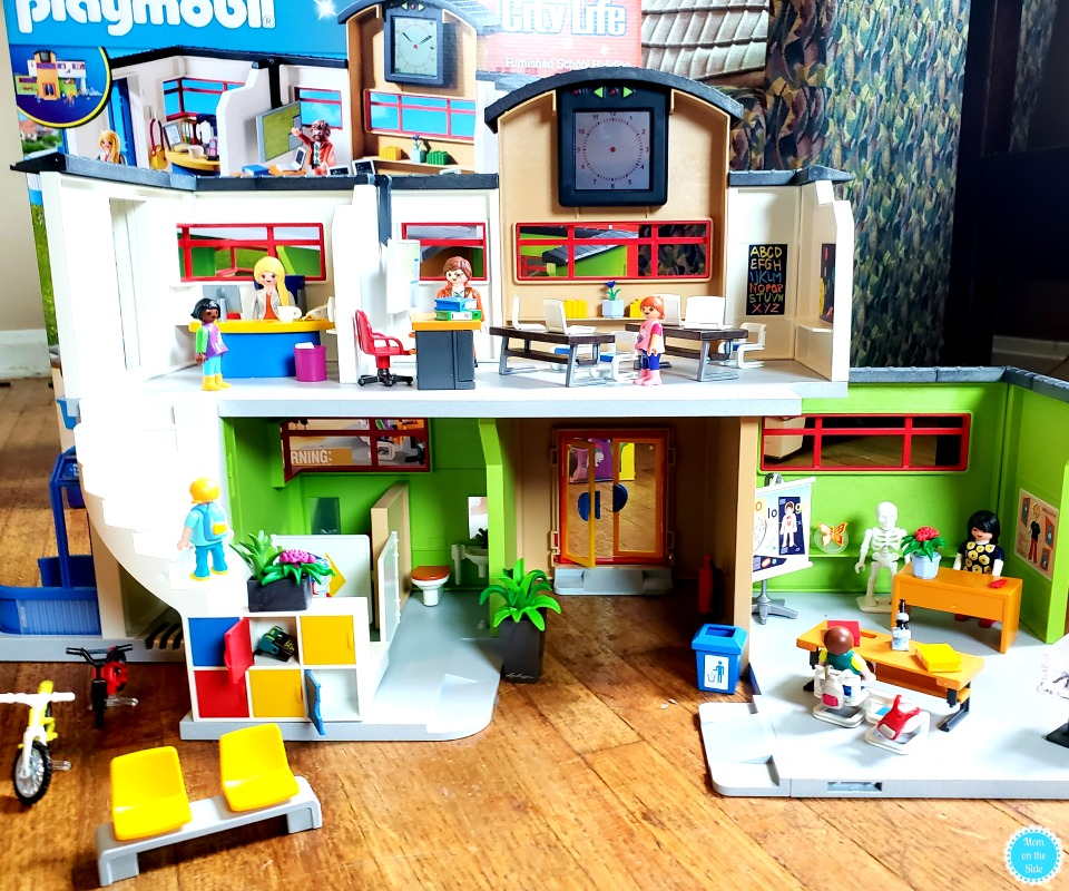 New Playmobil's Furnished School Set