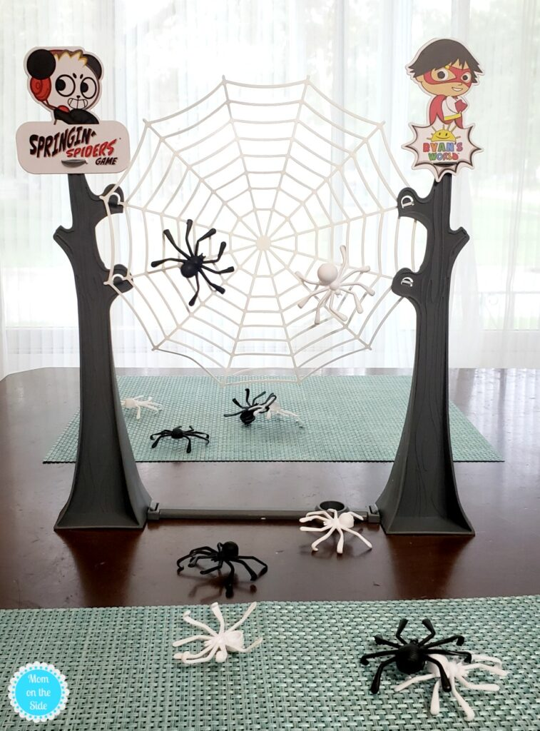 Playing Springin' Spiders