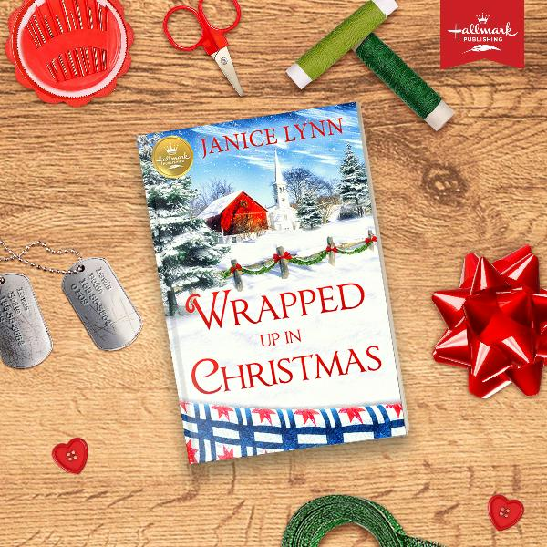 wrapped up in christmas book