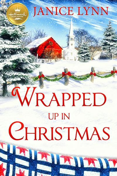 wrapped up in christmas cover