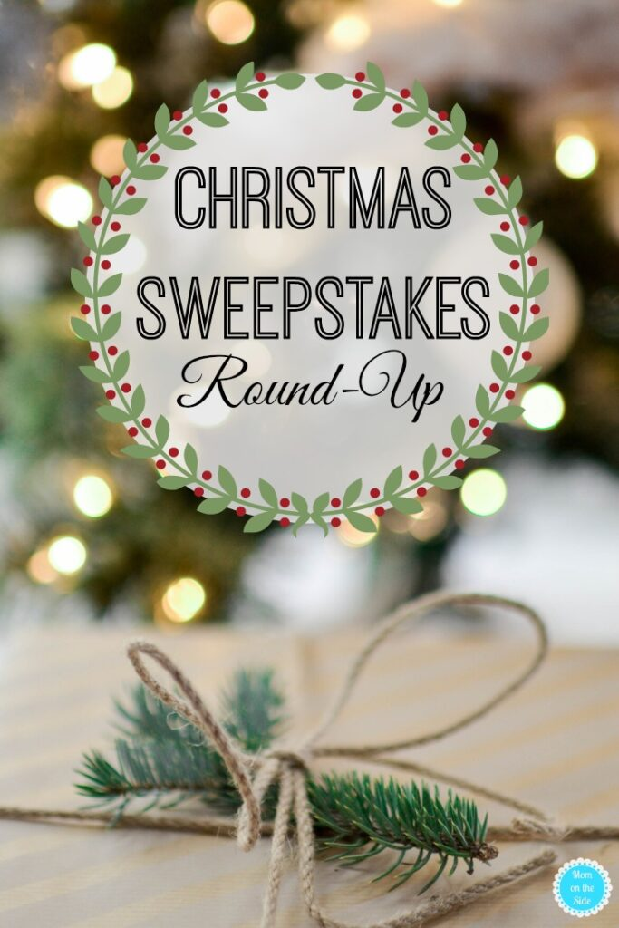 round-up of christmas sweepstakes 2019