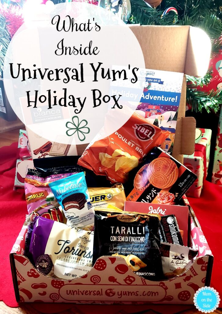 Inside Universal Yum's Holiday Box