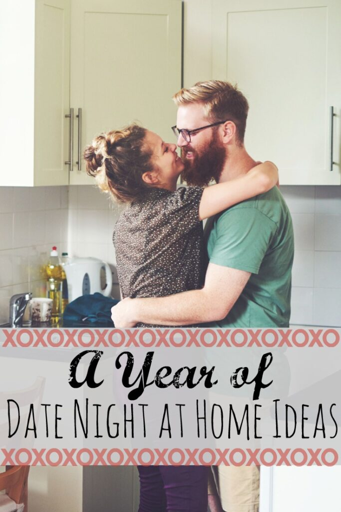 big list of date night ideas at home