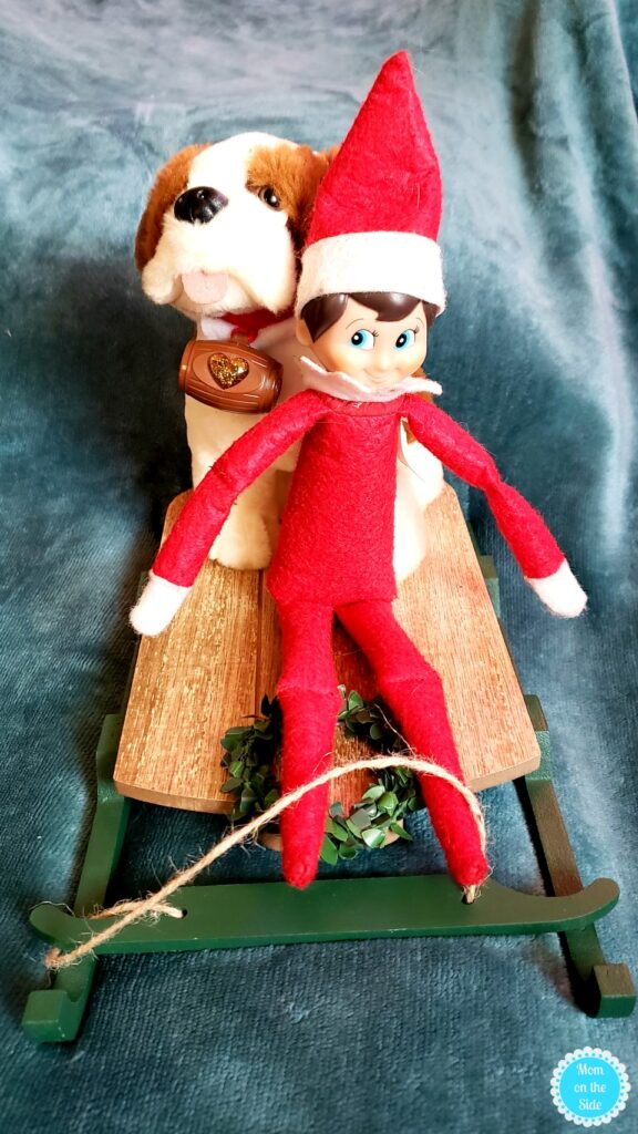 Simple and quick elf on the shelf ideas
