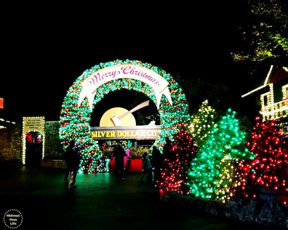 Christmas at Silver Dollar City in Branson