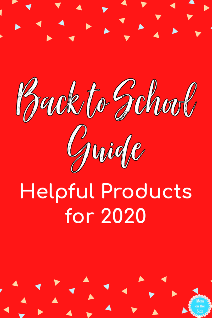 Back to School Products for 2020