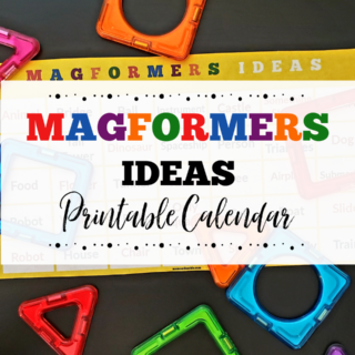 Magformers Ideas Printable Calendar
