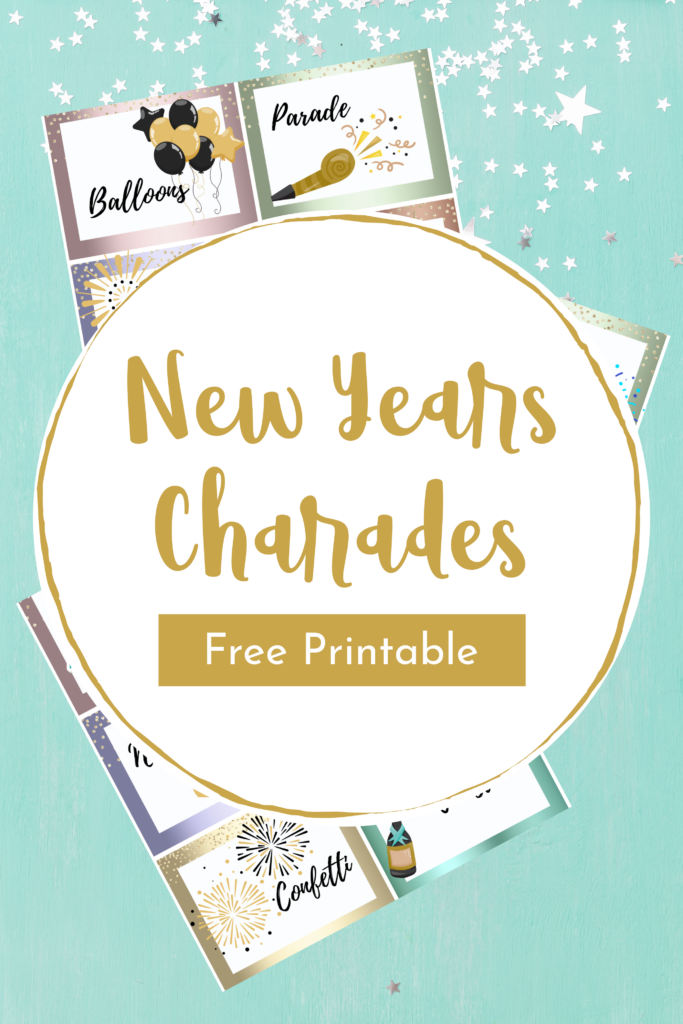 Printable New Years Charades
