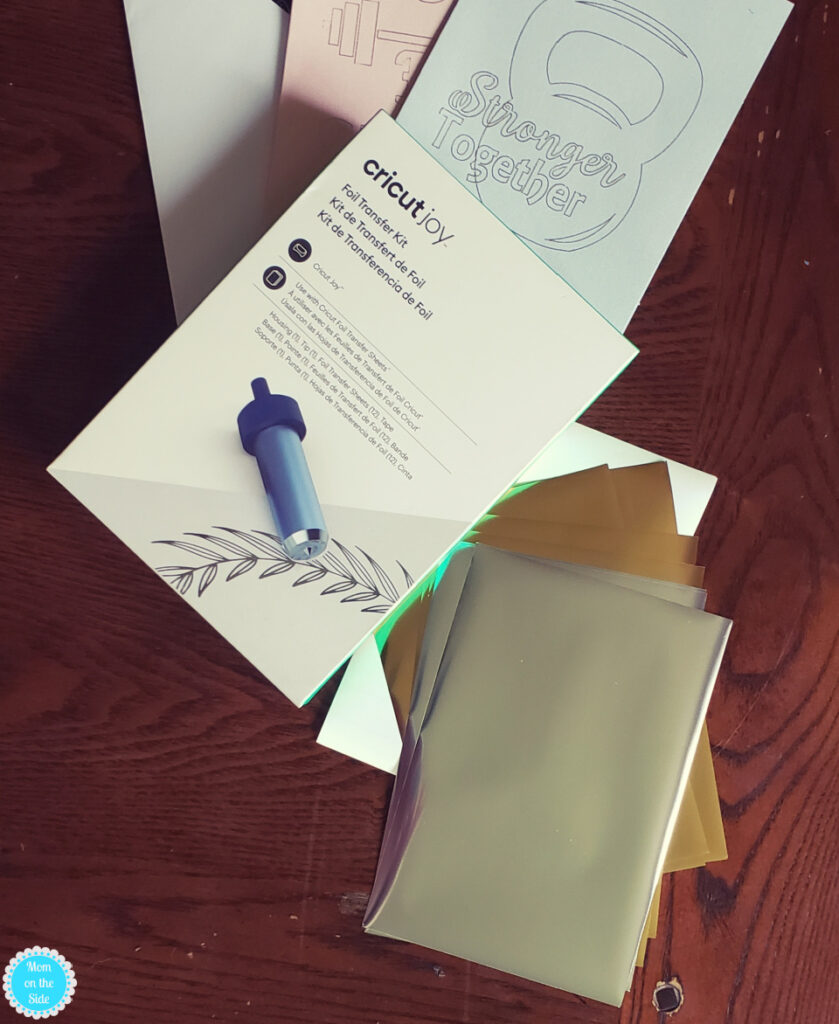 cricut joy foil transfer cards kit